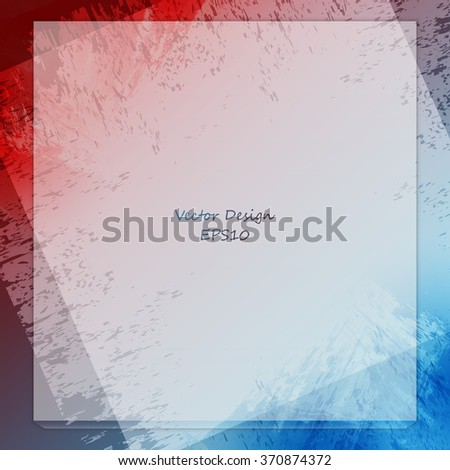 grungy colorful vector design with copy space. Eps10 - stock vector