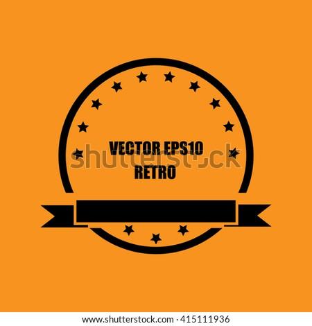 Guarantee Tag label retro vintage style - stock vector