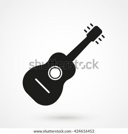 Guitar Icon, Guitar Icon Vector, Guitar Icon Object, Guitar Icon Image, Guitar Icon Picture, Guitar Icon Graphic, Guitar Icon Art, Guitar Icon App, Guitar Icon JPG, Guitar Icon JPEG, Guitar Icon  - stock vector
