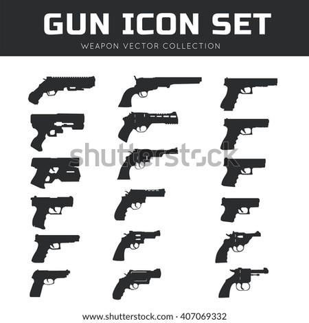 Gun Stock Vectors, Images & Vector Art   Shutterstock