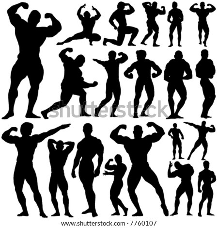gym, fitness vector - stock vector