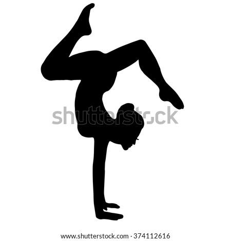 gymnast yoga