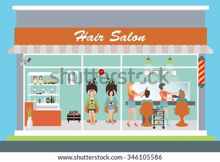 Salon on Pink Beauty Salon Interior Design