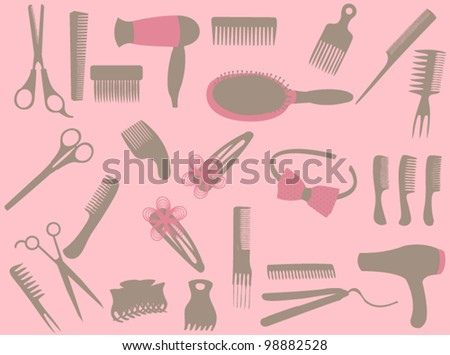 Hairdressing elements
