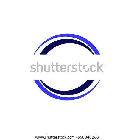 Unique Half Circle Logo Design IV Stock Vector 660048268 - Shutterstock PL18