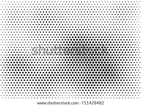 Halftone Background Modern Backdrop Points Texture Vintage Abstract Pattern Vector Illustration