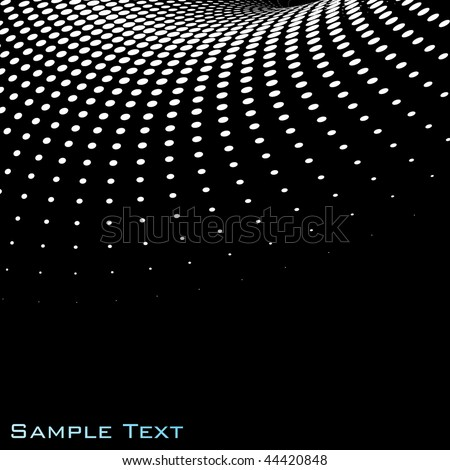 Halftone background. Vector. - stock vector