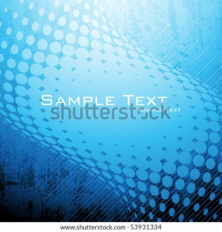 Halftone background. Vector.