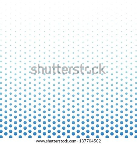 Halftone effect background. Abstract gradient digital background. Vector illustration - stock vector
