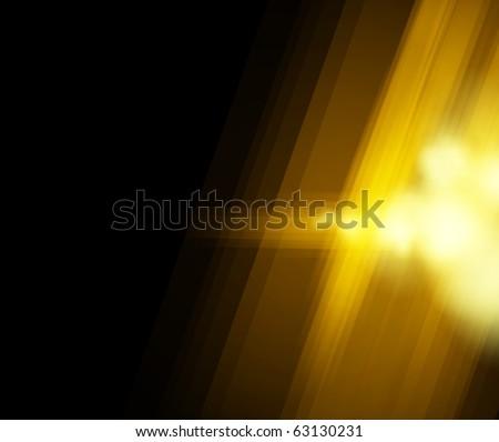 Halftone golden light background. Vector illustration - stock vector