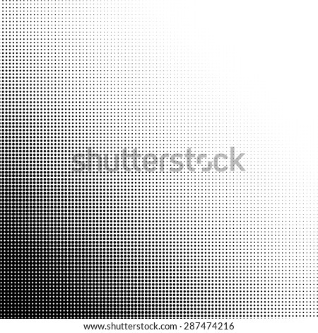 Halftone illustration. Halftone dots. Halftone effect. Halftone pattern. Vector halftone dots. Dots on  background. Vector Halftone Texture - stock vector