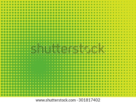 Halftone Screen Background - stock vector