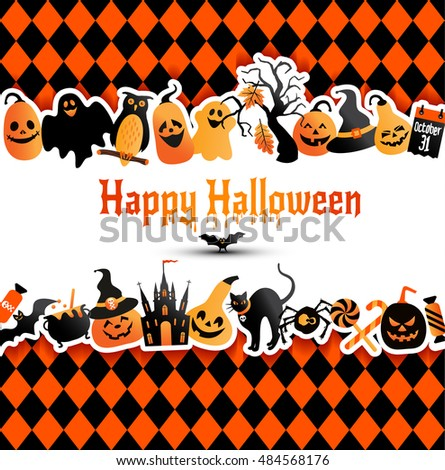 Halloween Template Stock Images, Royalty-Free Images & Vectors