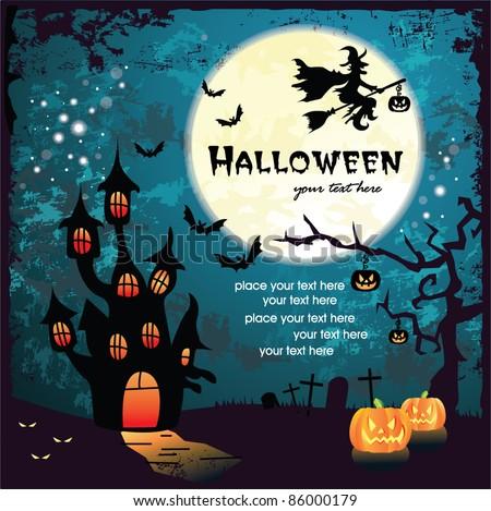 Halloween design - stock vector