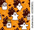Halloween Holiday Background - stock vector