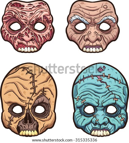 Scary Mask Stock Images, Royalty-Free Images & Vectors ...