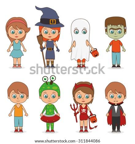 Halloween party design, vector illustration eps 10. - stock vector