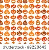 Halloween seamless background - stock vector