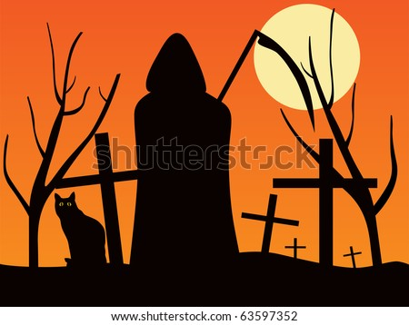 Halloween theme - stock vector