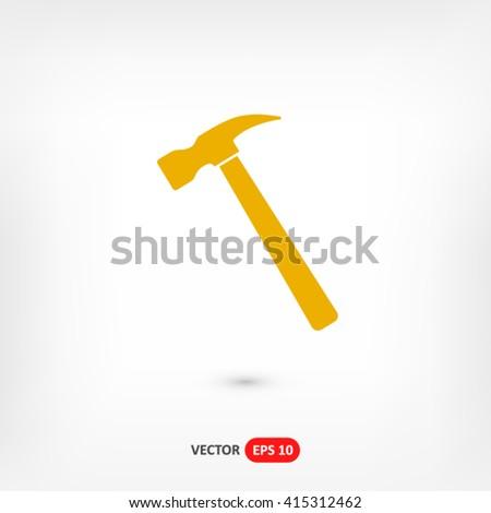 Hammer icon vector, hammer icon eps10, hammer icon picture, hammer icon flat, hammer icon, hammer web icon, hammer icon art, hammer icon drawing, hammer icon, hammer icon jpg, hammer - stock vector