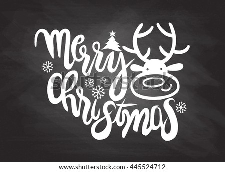 Hand drawing cartoon character,Merry christmas .Doodles vector illustration. - stock vector