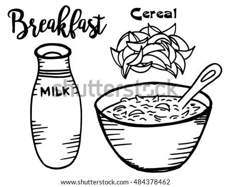 Cornflakes+milk