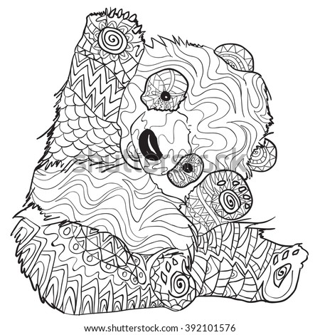 ... Coloring Pages moreover Hard Spring Coloring Pages. on panda coloring
