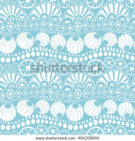 Hand drawn doodle pattern for textile design, wrapping paper, scrapbooking. Seamless vector doodle pattern.