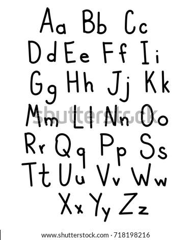 Outlining Korean Alphabet Letters