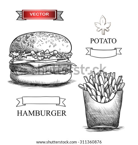 Stock Vector Burger Menu Hand Drawn Illustration On White as well Search together with Search also Search further Stock Vector Tea Time Still Life Set Vector Illustration. on beautiful coffee cups html