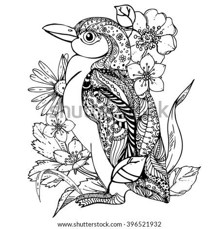 Colouring Pages Kookaburra : Cockatoo parrot bird coloring book adults stock vector 411446233