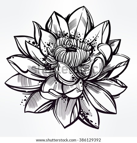 Flower Tattoo Stock Images Royalty Free Images amp Vectors Shutterstock