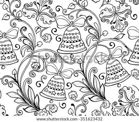 christmas coloring page stock images, royalty-free images ... - Christmas Ornaments Coloring Pages