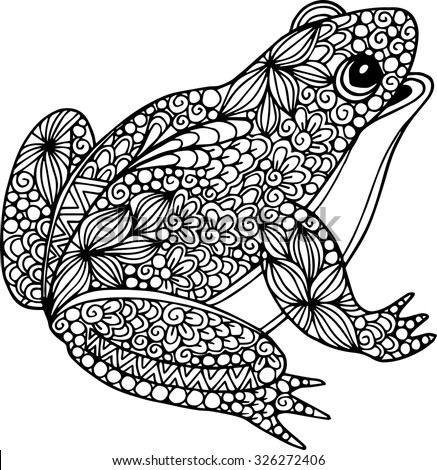 Frog Silhouette Stock Images Royalty Free Images