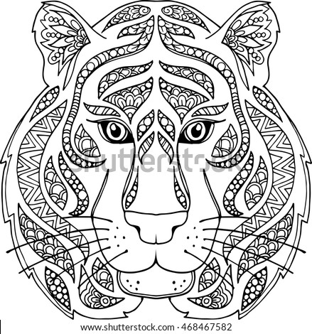 Stock Vector Blackwork Tattoo Flash Rose Flower Highly Detailed Vector Illustration Isolated On White further Hand Drawn Doodle Ornate Lion Illustration Decorative Vector Head Drawing Coloring Book moreover Vector Monochrome Hand Drawn Illustration Lion Face Coloring Page High Details Isolated White Background Boho Style together with Stock Vector Princess Mermaid In The Seashell Zentangle Stylized Cartoon Isolated On White Background Hand together with Recreation Tourism C ing Hand Drawn Doodle Elements Vector Illustration Travel  ponents Hiking Outdoor Tent Trees Bonfire. on stock illustration hand drawn ornamental outline lion head