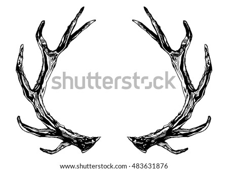 Free Reindeer Clip Art besides 86975836528729897 also 152274027815 further Reindeer1 as well Baby Deer Clipart Black And White. on caribou antlers clip art