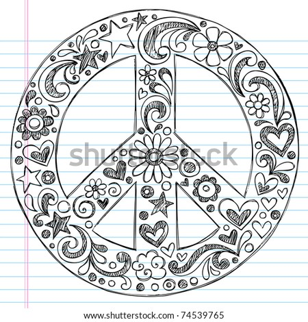 peace sign stock images, royalty-free images & vectors | shutterstock - Coloring Pages Hearts Stars