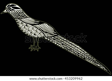 Magpie Totem Stock Images Royalty Free Images Vectors
