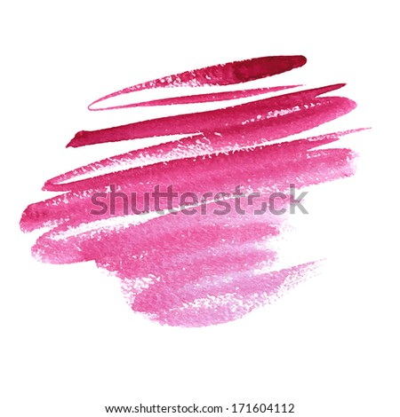 Hand drawn vector watercolor texture.