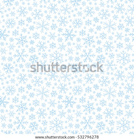 Hand drawn winter sketch snowflakes seamless stock vector 532796278 hand drawn winter sketch snowflakes seamless pattern backdrop for christmas noel new year stopboris Gallery
