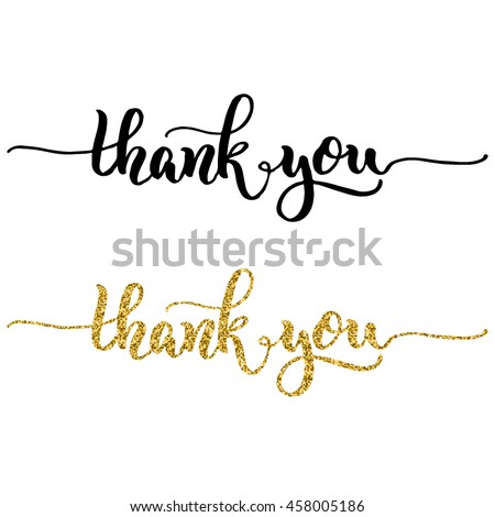 Painted Thank You Stock Images Royalty Free Images