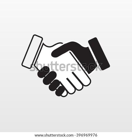 Hand shake. Hand shake icon. Hand shake vector. Hand shake flat. Hand shake agree. Hand shaking. Hand shake eps. Hand shake object. Hand shake illustration. Hand shake web. Hand shake logo. Handshake. - stock vector