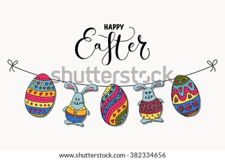 Easter Postcard Stock Images, Royalty-Free Images & Vectors
