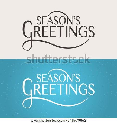 seasons greetings templates free