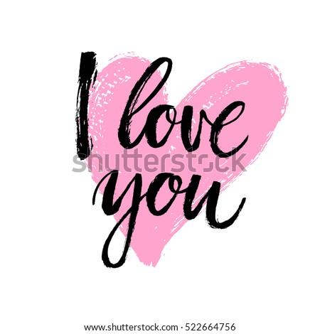 I Love You Stock Images RoyaltyFree Images Vectors Shutterstock