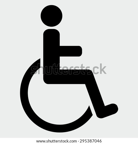 Handicap stock images royalty free images vectors Handicapped wheelchair