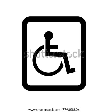 Bathroom Sign Vector womans bathroom sign vector icon stock vector 778530031 - shutterstock