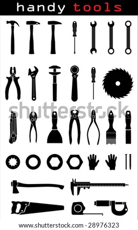 Handy Tools - stock vector