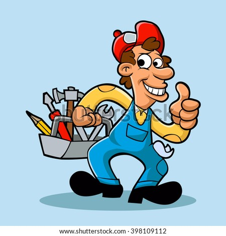 Clipart-handyman Stock Images, Royalty-Free Images & Vectors ...