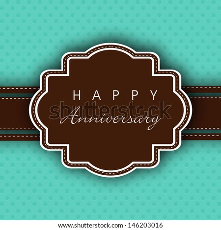 Happy anniversary Stock Photos, Illustrations, and Vector Art